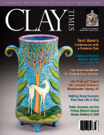 Clay Times September/October 2008 Cover