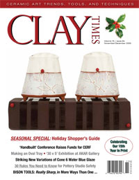 Summer/Fall 2014 Clay Times cover